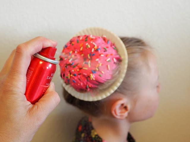 Little Hiccups Donut Hair DIY