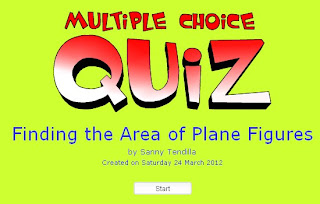 Smartboards: Finding the Area of Plane Figures - Math Module