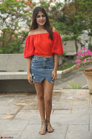 Rhea Chakraborty in Red Crop Top and Denim Shorts Spicy Pics ~  Exclusive 270.JPG