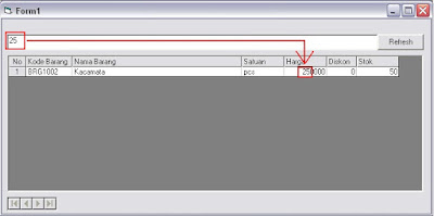 Membuat Aplikasi Pencarian Multiple Key Dengan MSFlexgrid Di Visual Basic 6.0