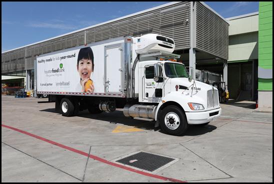 Houston Food Bank Kenworth T370