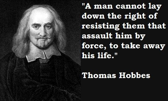 Hobbes and Machiavelli