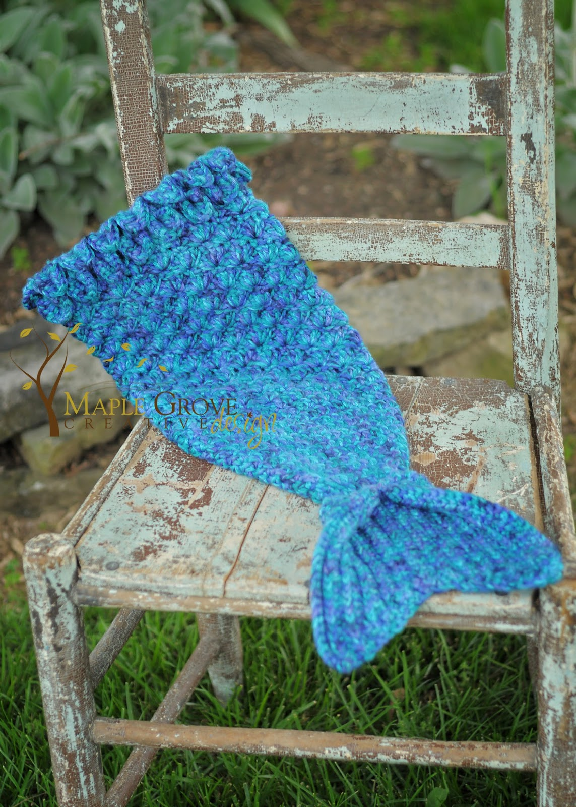 The Merry Mermaid Infant Cocoon free pattern! Maple ...
