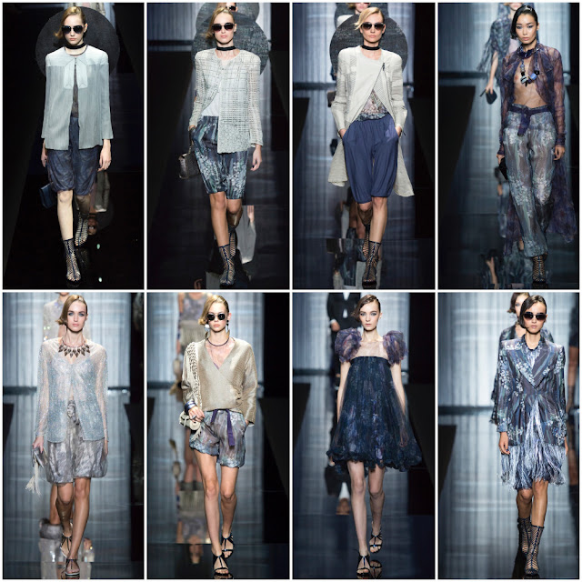 Armani brings charm to the Spring/Summer 2017 Milan Fashion Week Show