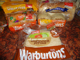 A Selection of Warburtons Products