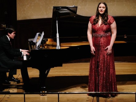 James Baillieu & Lise Davidsen at Rosenblatt Recitals at the Wigmore Hall (Photo Jonathan Rose)
