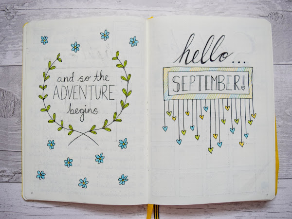 Bullet Journal | September Set Up