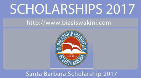 Santa Barbara Scholarship 2017