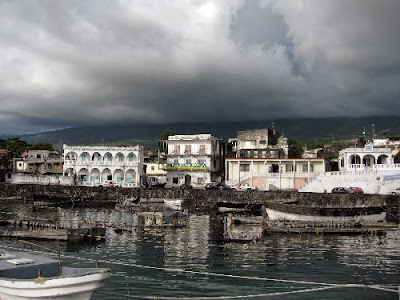 Comoros (Anjouan, Moheli and Grande Comore islands) have few natural resources except vanilla, cloves, and ylang-ylang oil.
