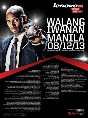 Kobe Bryant Arrives in Manila