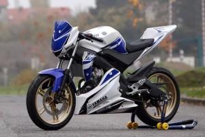 modifikasi motor vixion biru modifikasi motor vixion buat touring