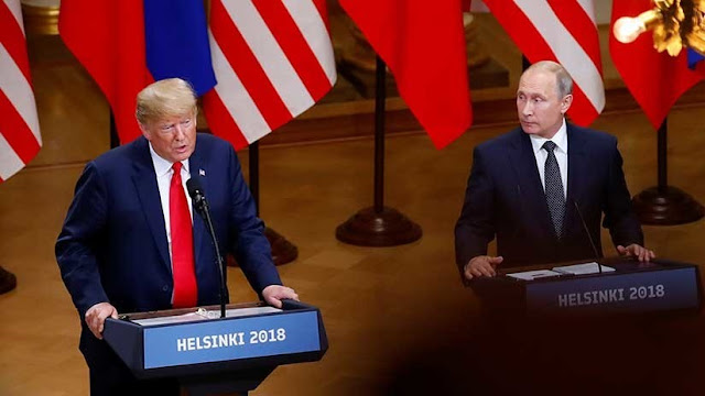 """Putin: """"Aconsejaría a Trump mirar al espejo para buscar al culpable de la subida del petróleo"""""""