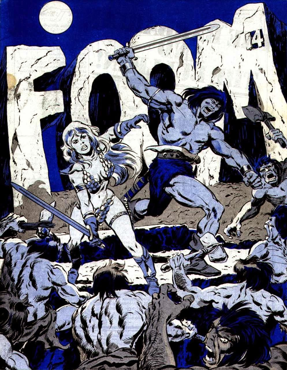 FOOM #14, Conan and Red Sonja