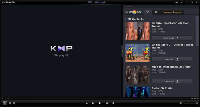 KMPlayer For PC Screenshot 1