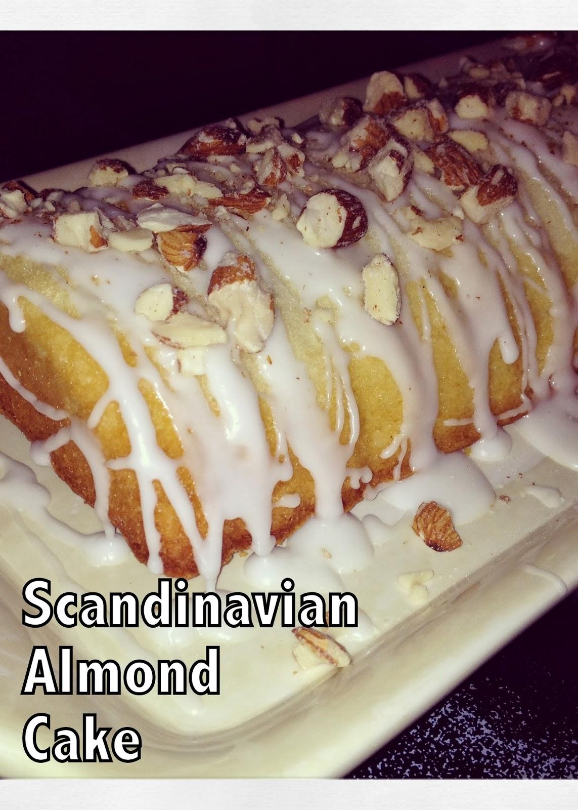 Hunny Bunny Baker Scandinavian Almond Cake