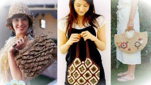 3 Patrones de Bolsos Crochet / en calidad PDF