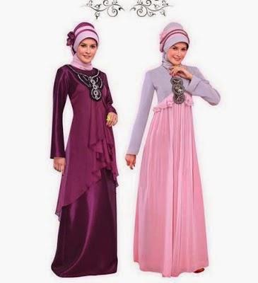 Baju Gamis Cantik Wanita Muslimah