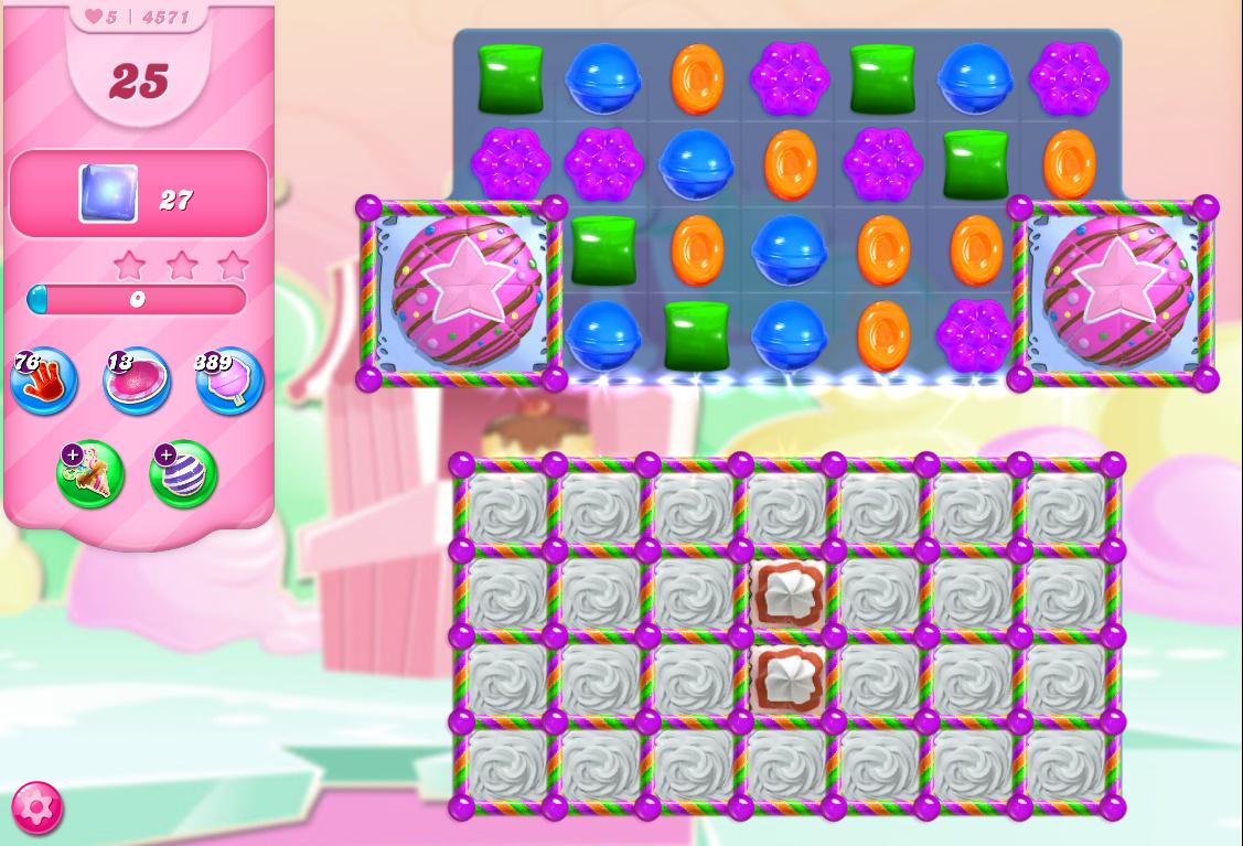 Candy Crush Saga level 4571