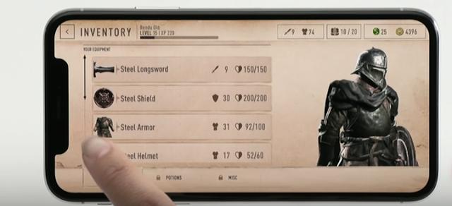 Se anuncia The Elder Scrolls: Blades para móviles