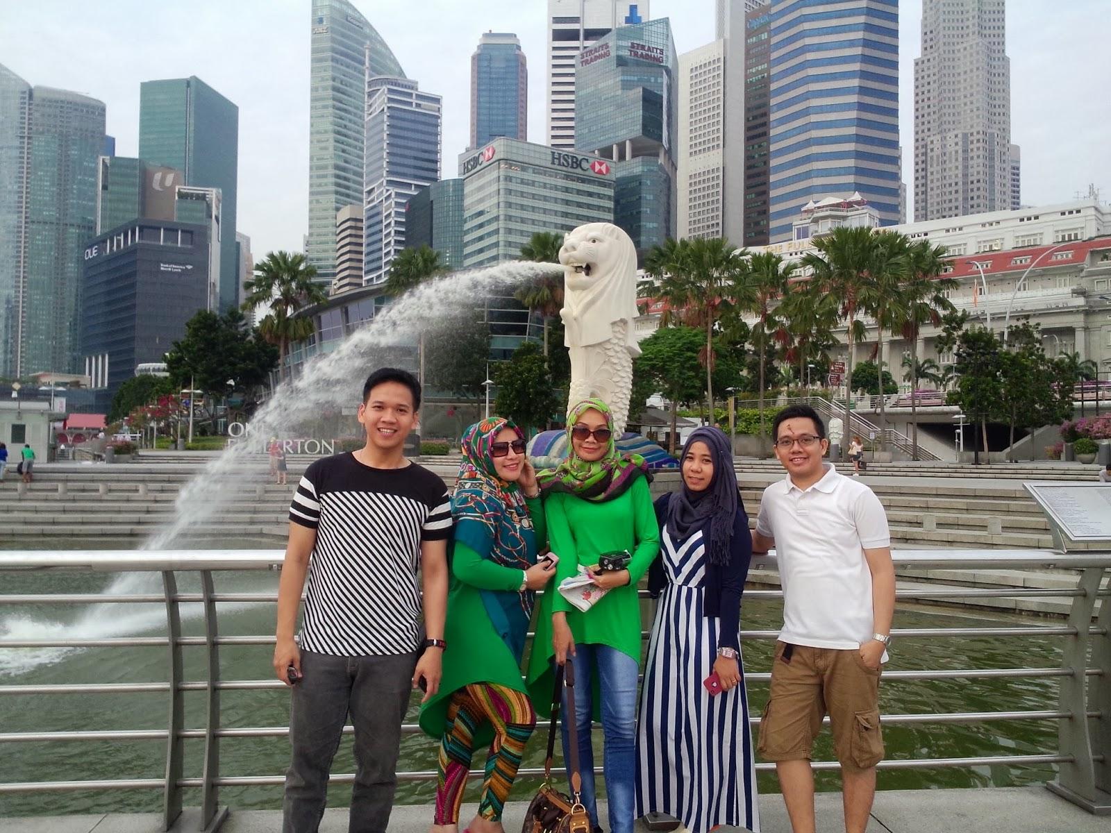 pengalaman pertama travelling ke singapura