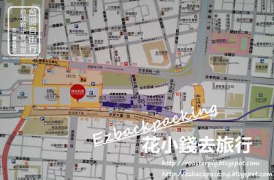 桃場捷運台北車站平面圖