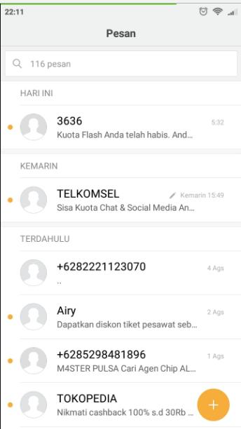 Cara Mengatasi HP Tidak Bisa Kirim SMS ke Semua Nomor