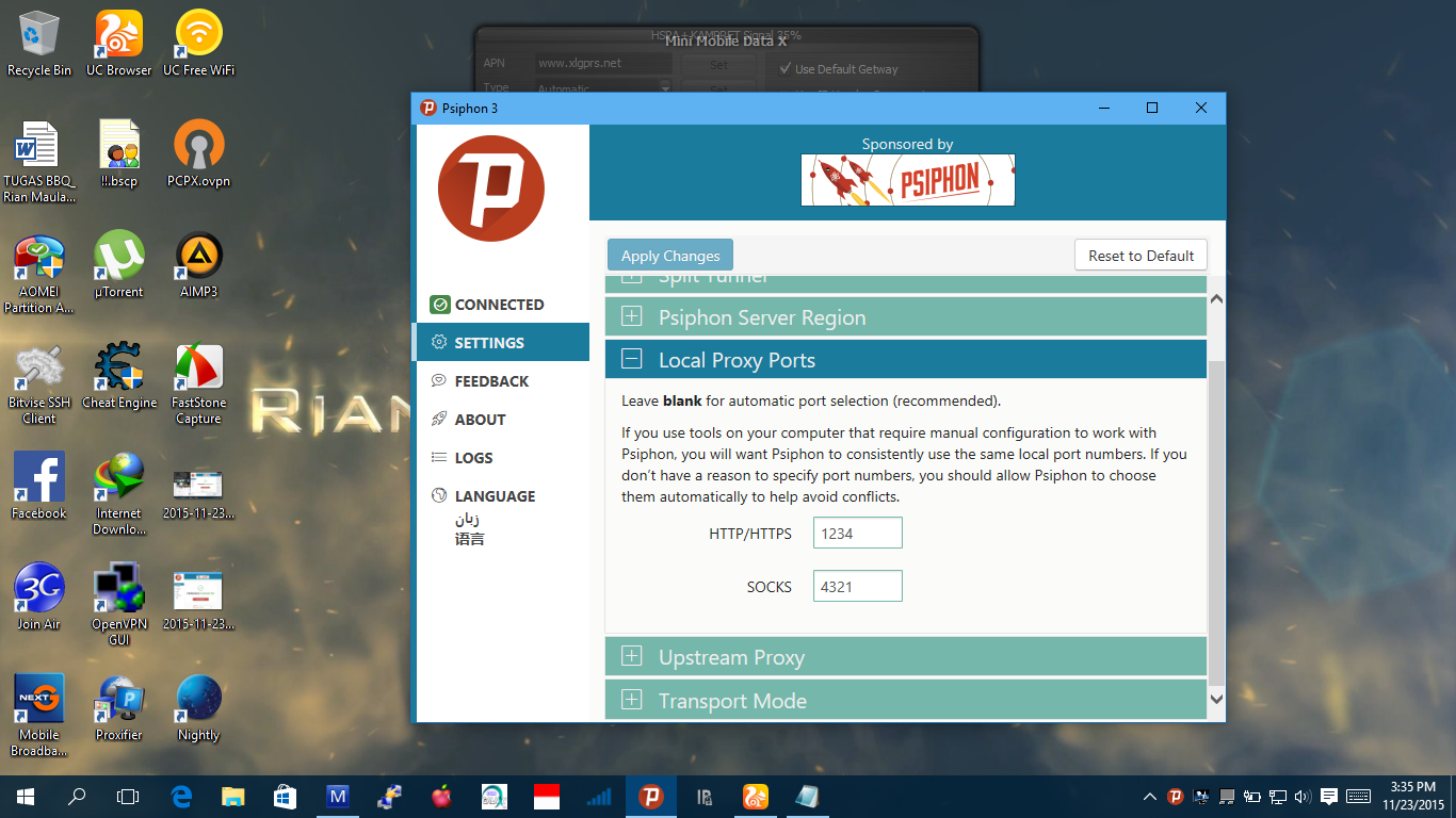 Psiphon setup for pc free download