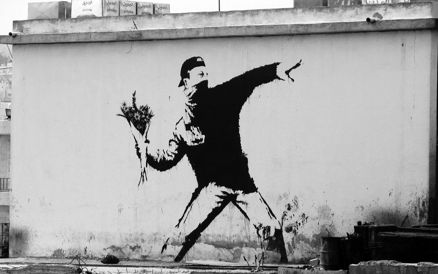 Coolest Banksy Graffiti Wonderful