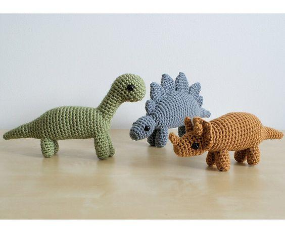 Dinosaurios Amigurumis Patrones Gratis : Hecho a mano.cl ** hecho en chile .: planet june blog