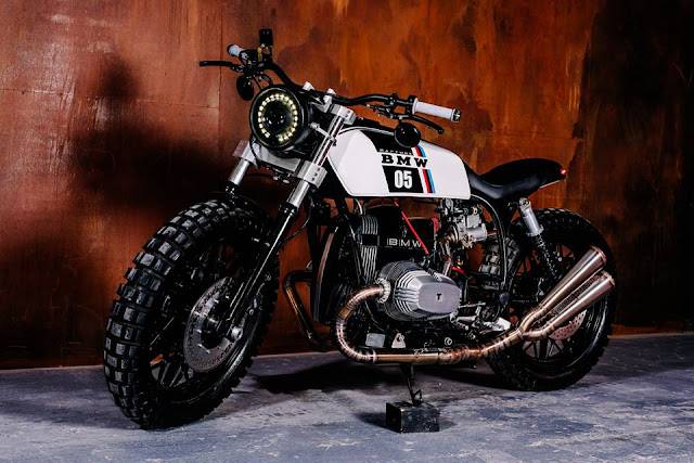 BMW R65 By Voodoo Garage Hell Kustom