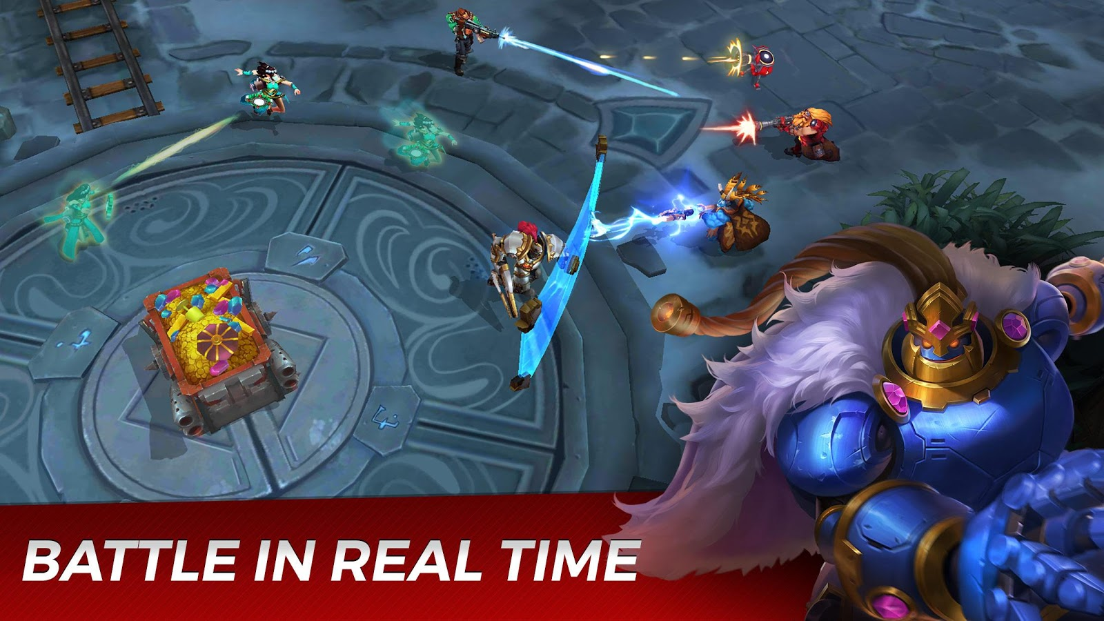 Paladins Strike Apk Data Obb - Free Download Android Game - Jagad id