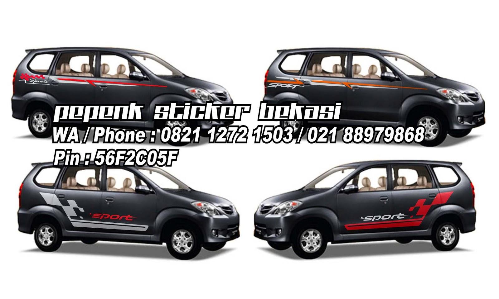 Cutting Sticker Mobil Wayang