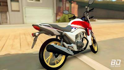 Download, mod, moto, Honda, CG, 160, Titan, HRC, Special Edition 2019, jogo, GTA San Andreas PC