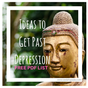 Ideas to get past depression free pdf