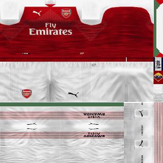 981c5cc6bd8 PES 6 Arsenal 2018/2019 GDB Kits - Micano4u | PES Patch | FIFA Patch ...