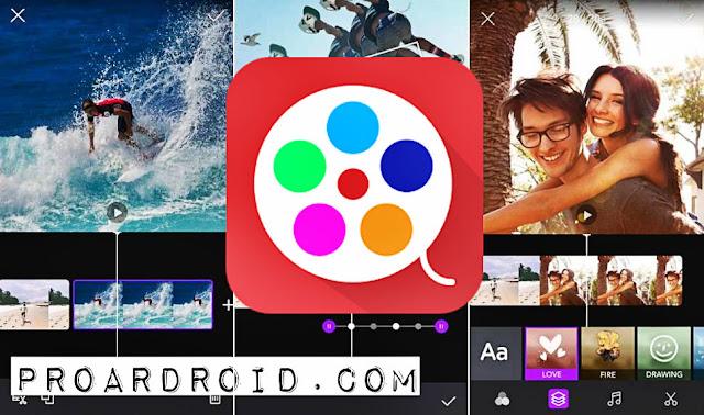 تطبيق Movie Maker - Photo Video Maker لانشاء مقاطع فيديو من خلال صورك النسخة المدفوعة logo