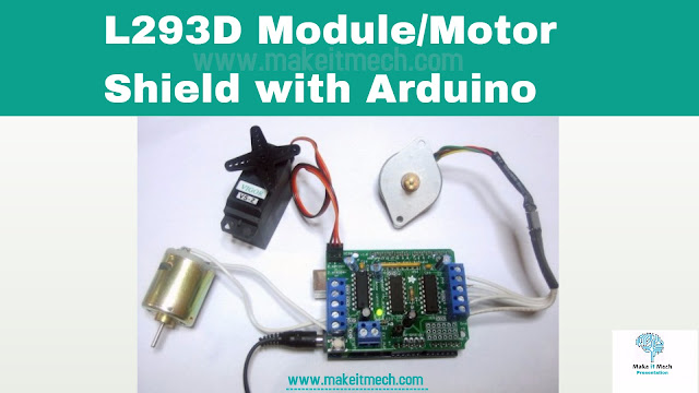 how to use motor driver with arduino