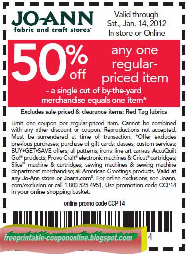 Does joann fabric take competitor coupons