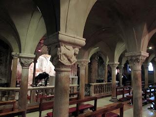 Cripta; Catedral; Duomo; Cathedral; Cathédrale; Modena; Modène; Emilia-Romagna; Emilia-Romaña; Émilie-Romagne; Italia; Italy; Italie