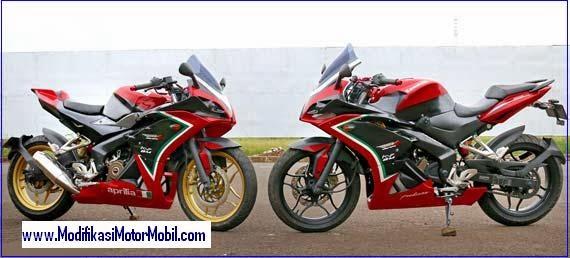 Modifikasi Kawasaki Pulsar 200ss