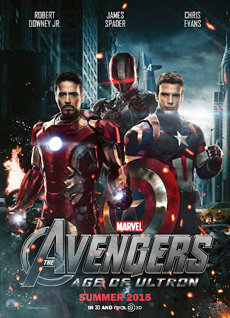 Poster Of Avengers Age of Ultron (2015) In Hindi English Dual Audio 150MB Compressed Small Size Mobile Movie Free Download Only At worldfree4u.com