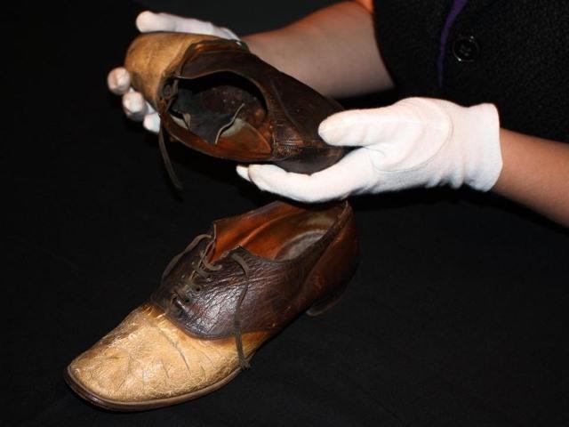 Big Noise George, bandolero convertido en zapatos