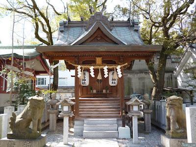 鹿島神社祠