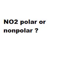 NO2 polar or nonpolar ?