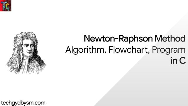 Newton Raphson Method in C
