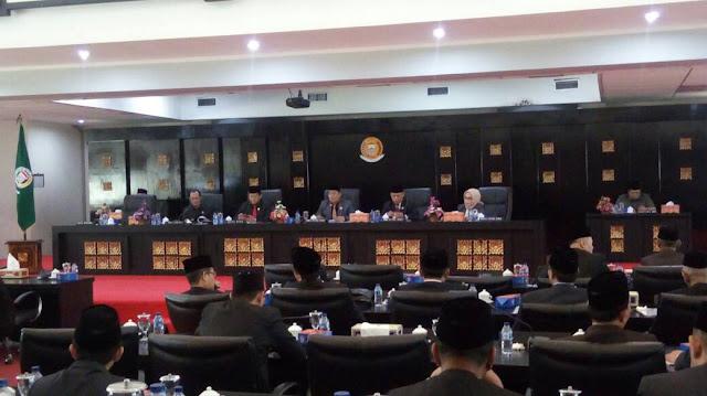 DPRD Kota Palembang Tanggapi LKPJ Wako Palembang