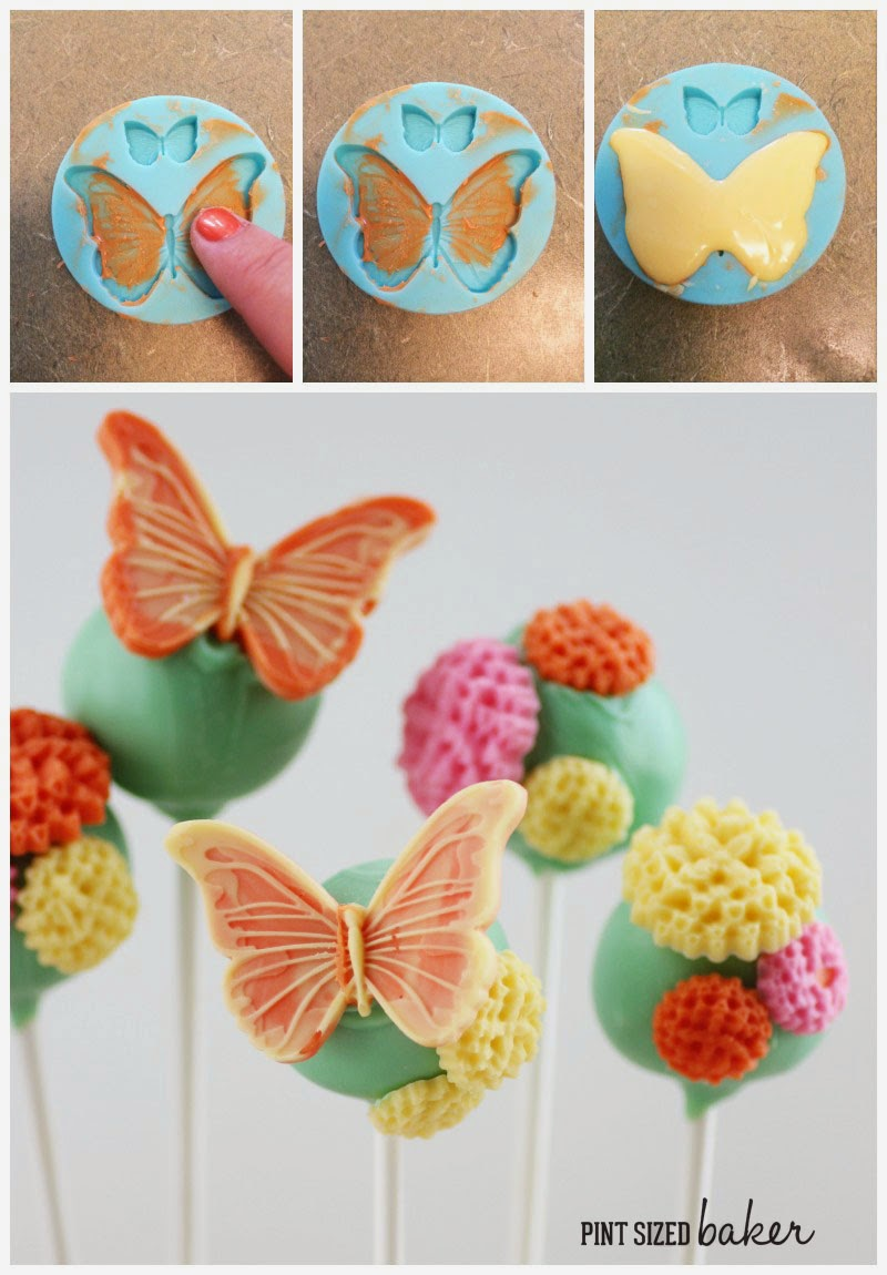 Spring time celebrations aren't complete without Butterfly Cake Pops. You can learn how to make these fun cake pops at home for your garden party.