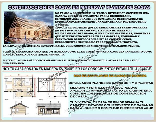 """""""Construccion de casas de madera, cabañas"""""""