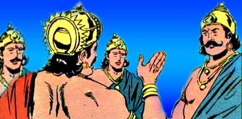 Yudhishthira Bhima