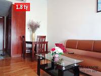 The Manor 2 HCM bán căn hộ block G 36m2 | phòng khách căn hộ
